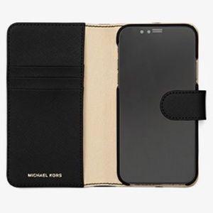 bafdce791be2 Michael Kors Accessories - MICHAEL MICHAEL KORS Folio Phone Case for iPhone  X